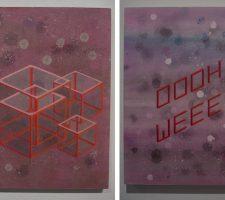 Berlin Art Link Studio Visit, Art work by Adam Raymont