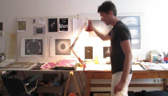Adam Raymont Studio Visit