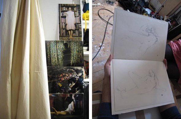 Berlin Art Link Studio Visit with Antonio Santin