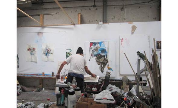 Berlin Art Link Studio Visit with Jaybo Monk