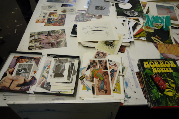 Berlin Art Link Studio Visit with John Kleckner
