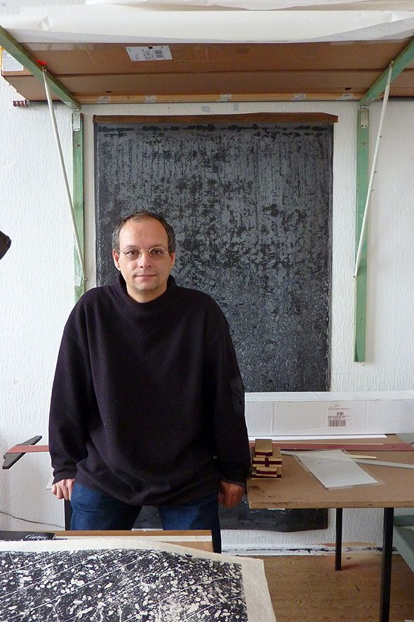 Berlin Art Link Studio Visit with Philipp Hennevogl
