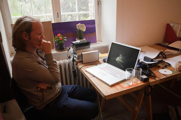 Berlin Art Link Studio Visit with Egill Saebjornsson