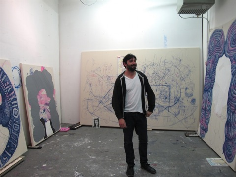 erlin Art Link Studio Visit with Jose Lerma