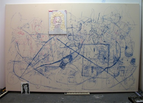 erlin Art Link Studio Visit with Jose Lerma