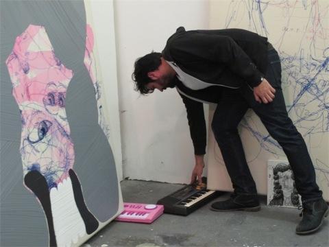 Berlin Art Link Studio Visit with Jose Lerma