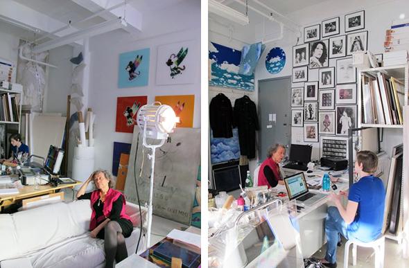 Berlin Art Link Studio Visit with Ultra Violet