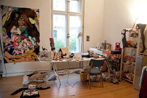 Berlin Art Link Studio Visit with Donna Huanca