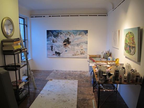 Berlin Art Link Studio Visit with Noah Becker
