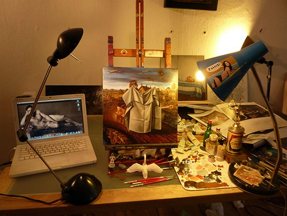 Berlin Art Link Studio Visit with Drew Simpson
