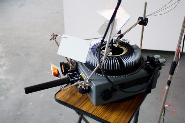 Sebastian Schmieg Projection