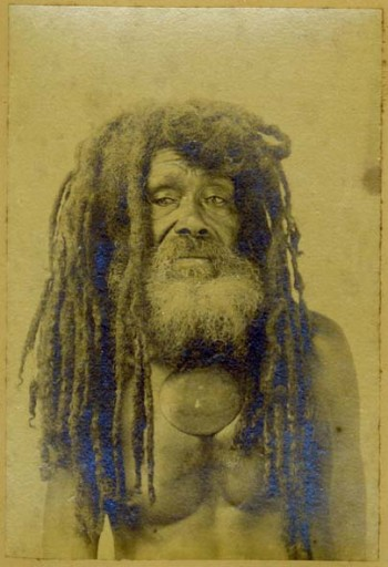 Anonymer Fotograf, Portrait (Der Kannibale Tom)