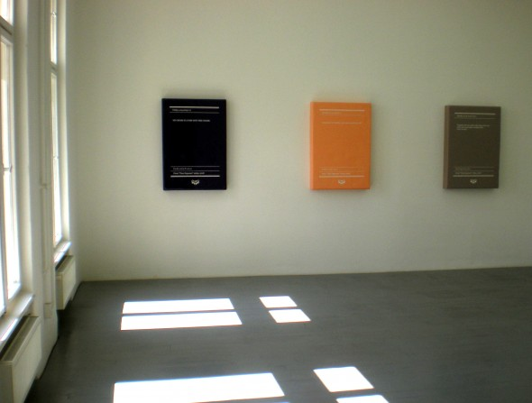 "Ioana Nemes - ""Time Exposure"" Insatllation View"