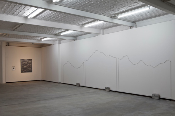 "Julien Grossmann, ""Vibrating Revivals- Alpine Swiss"", Installation view, courtesy of Künstlerhaus Bethanien"