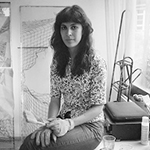 Berlin Art Link Studio Visit with Mira O'Brien