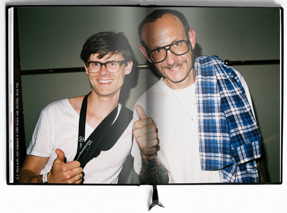 © THE PHOTODIARY™ / Maxime Ballesteros Trevor Good & Terry Richardson at Vogue Party
