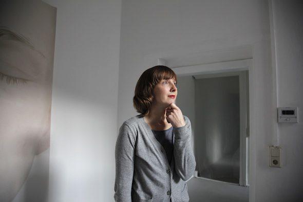 Berlin Art Link Studio Visit with Anja Schrey