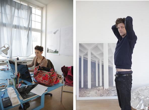 Berlin Art Link Studio Visit with June14