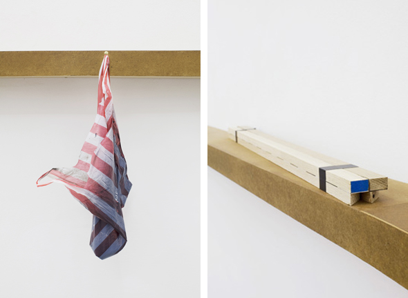 """Sean Edward – """"Remaining Only"""" (2011), installation view, detail; courtesy the artist and Tanya Leighton Gallery, Berlin"""