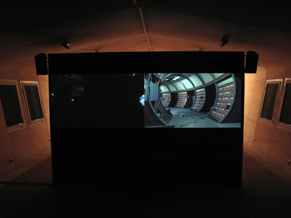 Out of the black; Regina de Miguel, installation view; courtesy Lauren Reid and REH Kunst