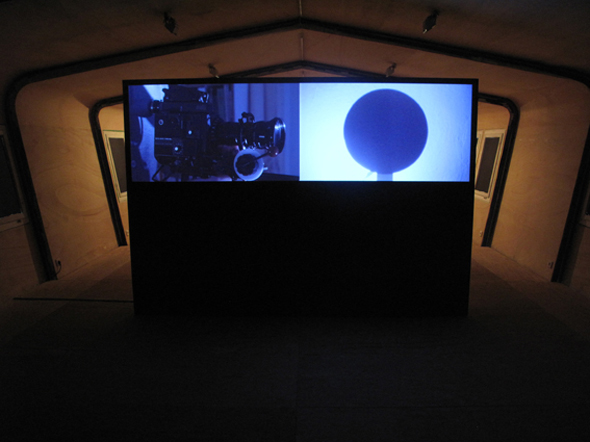 Out of the black; Sam Smith, installation view; courtesy Lauren Reid and REH Kunst