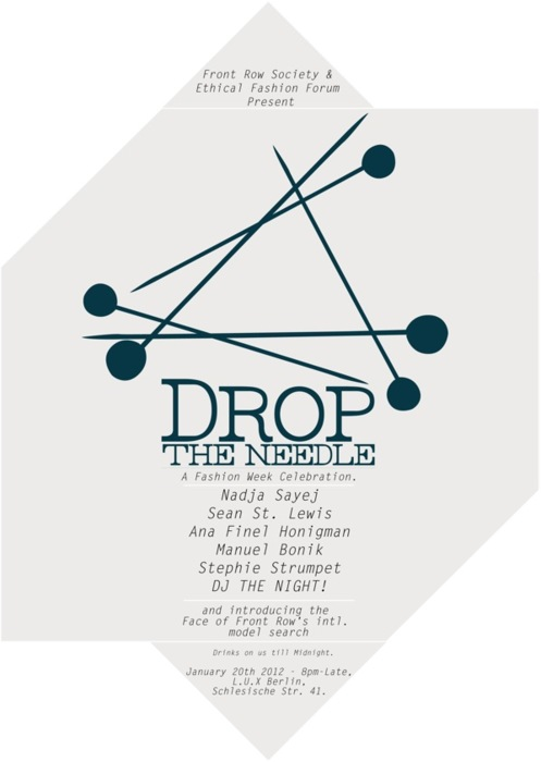 """Drop the Needle"": A Fashion Week Celebration"