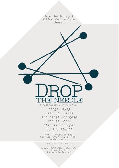 """Drop the Needle"": A Fashion Week Celebration"