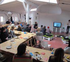 ART CONNECT BERLIN'S Networking Breakfast at Node Center