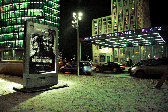 Vermibus at Potsdamer Platz (2012); photo: Laura Colomé