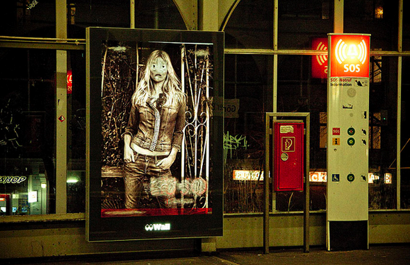 Vermibus at UBahn Görlitzer Bahnhof (2012); photo: Laura Colomé