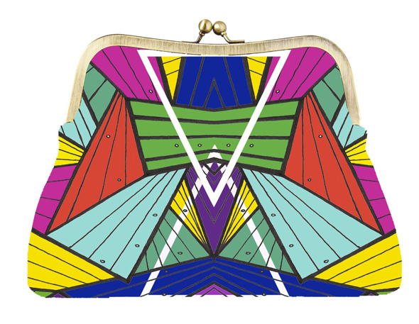 'Acid Lights' Clutch by Marta Duarte Dias
