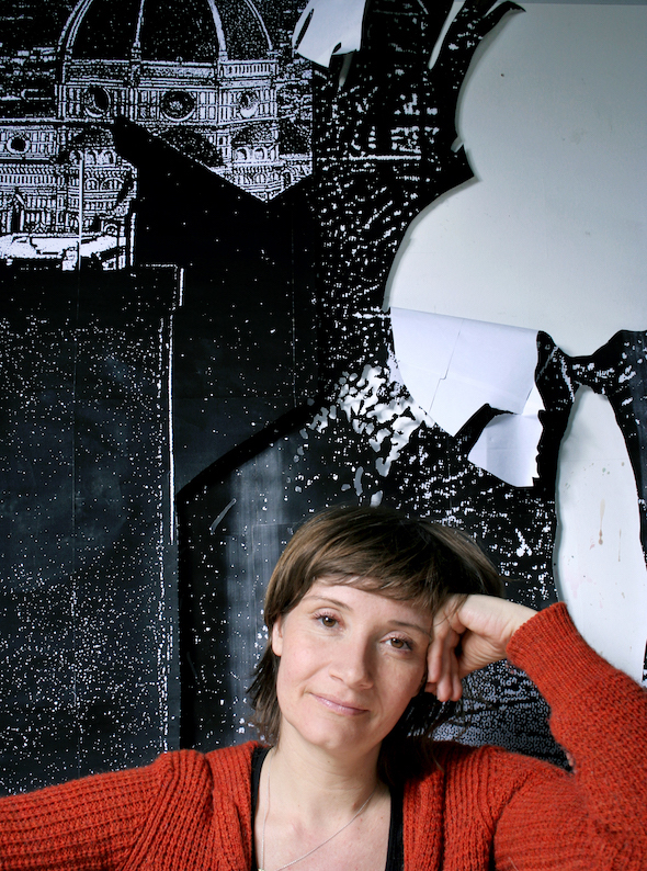 Berlin Art Link Studio Visit with Kirstine Roepstorff