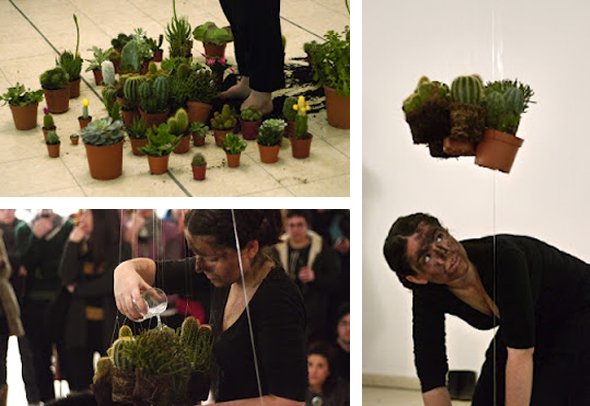 "Marisa Benjamin - ""Foot Under the Ground"" (2012), Performance Holiday Island"