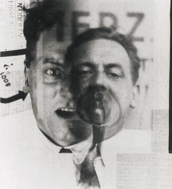 Photo: Kurt Schwitters. Photo El Lissitzky