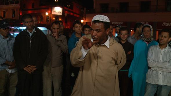 Storyteller at the Marrakech Biennale