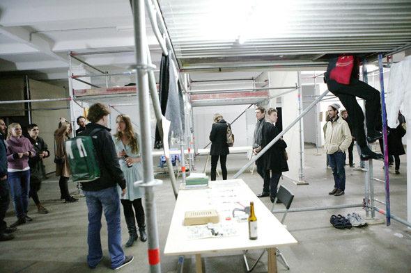 Post-Studio Tales, opening, photo: Heiko Schäfer