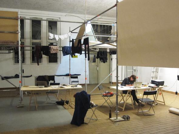 Post-Studio Tales, installation view; photo: Friedemann Heckel