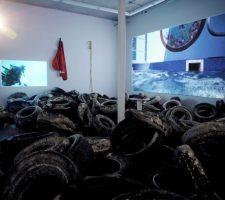 """Eclipse"" (2012), installation view at Charest-Weinberg, Miami"