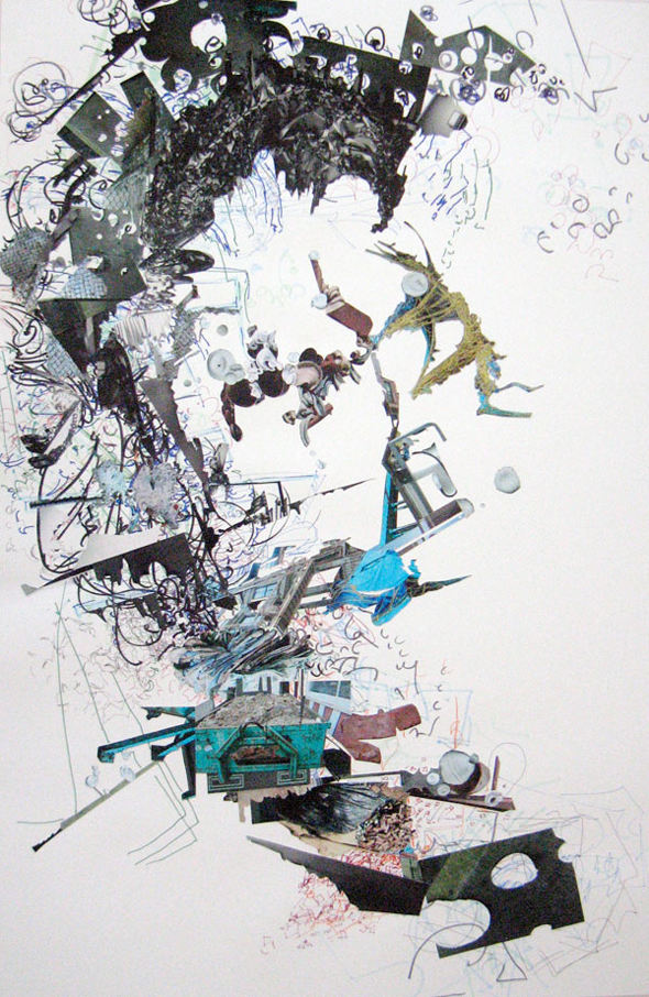 "Madeline Stillwell - ""Untitled Drawing Collage II"" (2011)"
