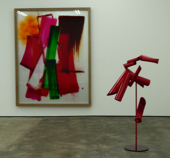 David Renggli, installation view: Drums, please!, 2012 at Wentrup