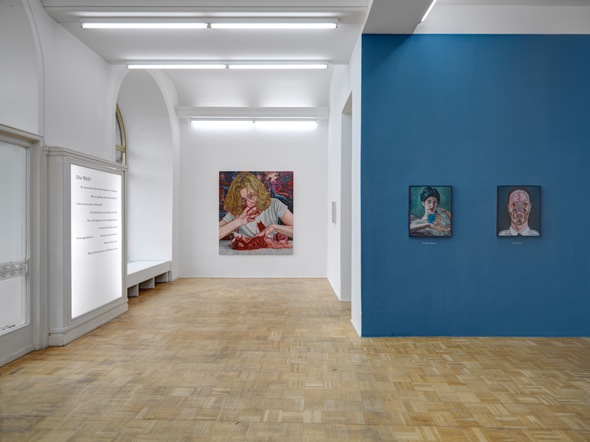 Alex Tennigkeit, A Hint of Lightness, exhibition view