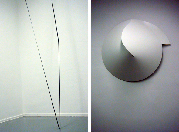 "Ilona Kálnoky ""strr..."" (2011) and Nicola Stäglich - ""deformation"" (2012)"