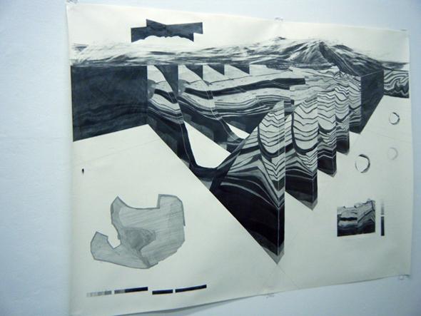"""Martin Schepers """"Verwerfungen"""" (2011)"""