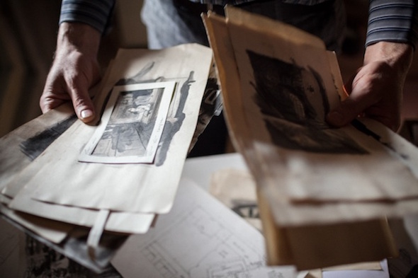 Berlin Art Link Studio Visit with Reynold Reynolds