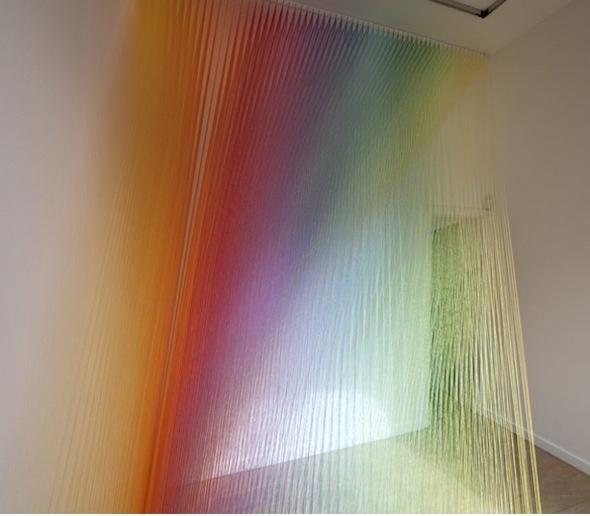Plexus no. 14 - Installation View (2012); Photo courtesy of Lot 10 Gallery, credit: MK