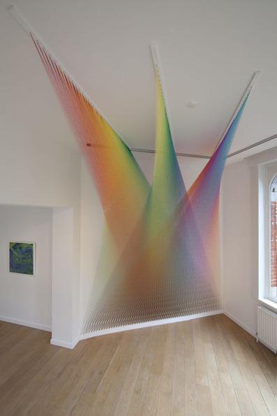 Plexus no. 13 - Installation View (2012); Photo courtesy of Lot 10 Gallery, credit: MK