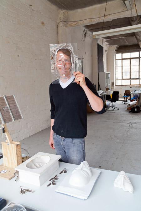 Aram Bartholl, photo Chloé Richard