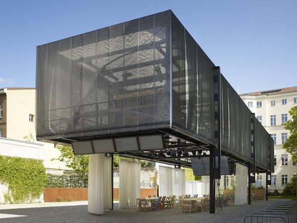 BMW Guggenheim Lab; Exterior View