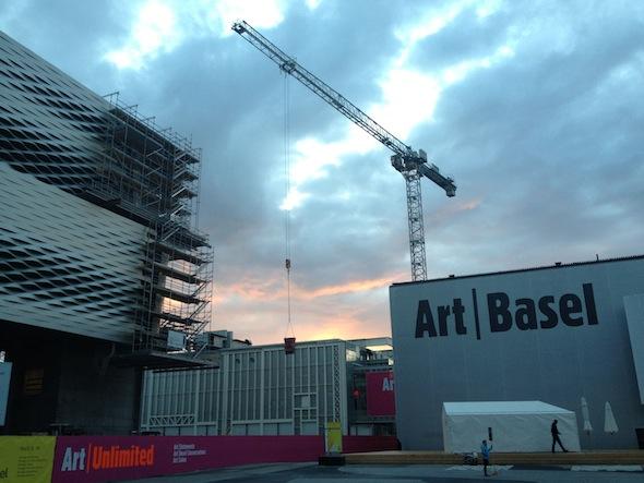 Art Basel Entrance
