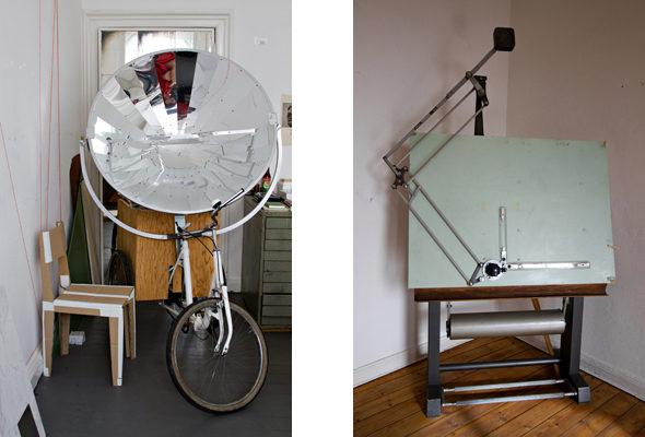 Berlin Art Link Studio Visit with Something Fantastic